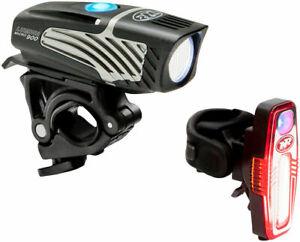 NiteRider Lumina Micro 900 & Sabre 110 Combo Bicycle Headlight and Taillight Set