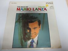 MARIO LANZA~The Best of Mario Lanza vol 2~Factory Sealed Vinyl LP LSC-2998(e)