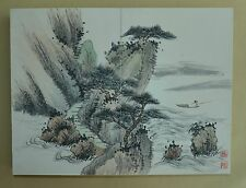Excellent Chinese Scroll Painting By Feng Chaoran P006 冯超然