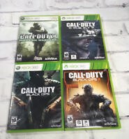 Call Of Duty Xbox 360 Games Lot Modern Warfare Black Ops Ghosts