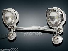 Motorcycle Driving Light Bar Turn Signal for Honda VTX 1300 1800 C R S RETRO