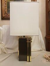 "TABLE LAMP ORIGINAL  ROMEO REGA  FIRMATA . ""IL NODO"" 1970 ."