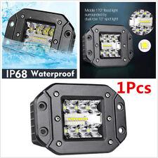 1Pcs 120W 9600LM LED Flood Work Pods Light Flush Mount Driving SUV Off road Lamp
