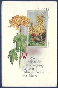 Thanksgiving Greetings from Fort Custer, Battle Creek, Michigan Soldier's Mail