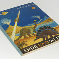 German Collectors Card Album Earth Dinosaur + Universe w/77 cards Picture Book