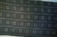 "Authentic African Handwoven Mud Cloth From Mali Size 64"" by 40.5"""