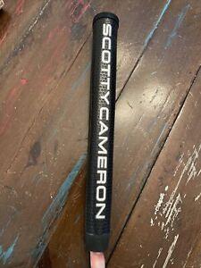 Scotty Cameron Black Silver Large XL Oversize Matador Putter Grip New