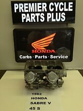 1982 HONDA SABRE V 45 S REMANUFACTURED KEIHIN CARBS CARBURETORS READY TO RUN