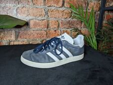New listing VINTAGE ADIDAS WOMENS GAZELLE TRAINERS UK SIZE 5 GOOD CONDITION NAVY/WHITE/BLUE