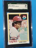1978 Johnny Bench Topps #700 PSA 9 MINT HOF Cincinnati Reds