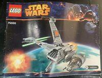 LEGO STAR WARS 75050 B-Wing Instruction Manual Book 2014 (Manual Only)