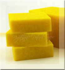 Lemon Zest Scrub Natural Soap Sea Salt Shea Butter Olive Oil 1 Large Soap Bar