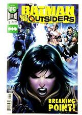 Batman and the Outsiders #8 DC 2020 NM Black Lightning Katana Orphan The Signal