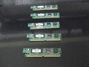 5 X Cisco PVDM2-64   64 Channel Packet/Voice DSP Module