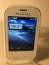 Alcatel One Touch 720 OT-720 - White (Unlocked) Mobile Phone