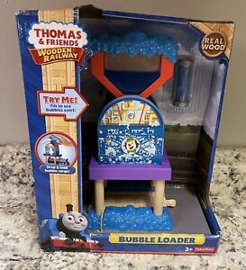Thomas the Train & Friends Wooden Railway BUBBLE LOADER Brand New in Box!