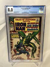 TALES OF SUSPENSE #84 CGC 8.0 CGC Marvel Comic comics CAPTAIN AMERICA ADAPTOID