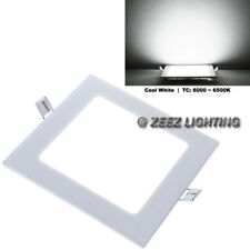 3W Square Cool White LED Recessed Ceiling Panel Down Lights Bulb Lamp Fixture