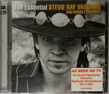 The Essential Stevie Ray Vaughan & Double Trouble 2 x CD Made In Aus 2002