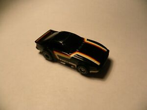 TYCO ~ HO Scale ~ MAZDA RX-7 GS Slot Car with Running Chassis ( Black) # 8932