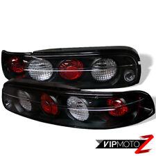 For SC300/SC400 95-00 Lexus JDM Black Diamond White LED Brake Lamps Tail Lights