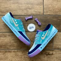 Nike SB Zoom Janoski Doernbecher Freestyle Blue Glaze CV2365-400 Men's Size 13