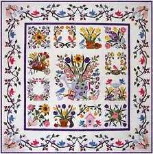 Baltimore Spring Quilt Pattern Set By Pearl Pereira