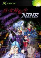 Shin Megami Tensei IX Nine Brand New Factory Sealed Japan Xbox Import  (2002)