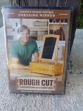 New Rough Cut - Woodworking with Tommy Mac DVD: Greene-Inspired Dressing Mirror