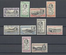 ASCENSION ISLANDS 1934 SG 21/30 USED Cat £120