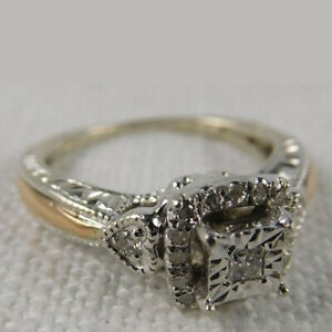 Fashion 925 Silver Ring Women White Sapphire Wedding Jewelry Rings Gift Size 6