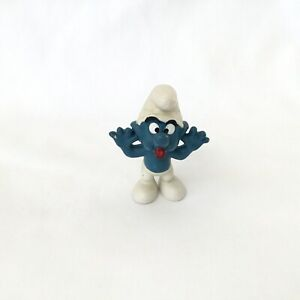 Smurfs Naughty Smurf 20077 Rare Vintage 1973 Figure Toy Schleich Peyo W. Berrie