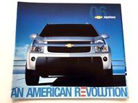 2006 Chevrolet Equinox 20-page Sales Brochure Catalog - Chevy