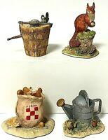 Vintage Lowell Davis Schmid BFA Animal Figurine Lot Of 4 Ayres