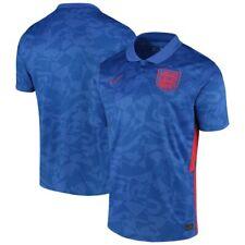 Team Inglaterra Euros Nacional Futebol Europeu 2020/21 embora Camisa Réplica-Azul