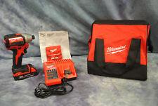"Milwaukee 2750-20 M18V 1/4"" Brushless Impact Driver Charger & Tool Bag"