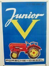 PORSCHE DIESEL Poster - Standard - PORSCHE-DIESEL Erfolg - blau - 29,7 x 42,0 cm