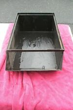 Industrial Steel Storage Bin Vintage Antique Parts Bin 3 available #1 COR
