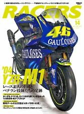 RACERS Vol.14  MOTO GP WGP Book Valentino Rossi's YAMAHA YZR-M1 Free Shipping
