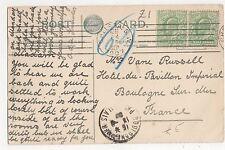 Chelsea S.W. 1907 Machine à annuler sur Worcester carte postale, B049