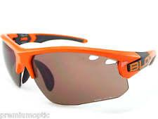 BLOC Hombre Titan Gafas Sol Deporte Brillante Naranja/Bermellón cat.3 lentes
