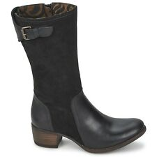 Fly London Jeny Chaussures Femme 40 Bottes Bottines Montantes Mid Boots UK7 Neuf