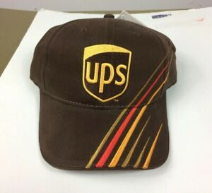 UPS Chase Authentics NASCAR Robert Yates Racing Brown Adjustable Hat Cap NWT