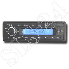"Vdo tr712ub-bu 12v radio avec Bluetooth rds usb mp3 Autoradio FM tuner ""sans CD"""