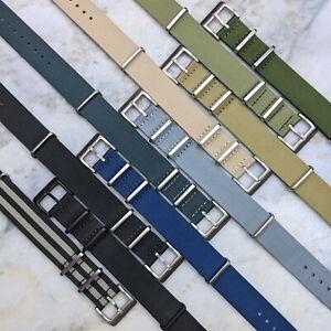 Premium Nylon Watch Strap - 18mm/20mm/22mm
