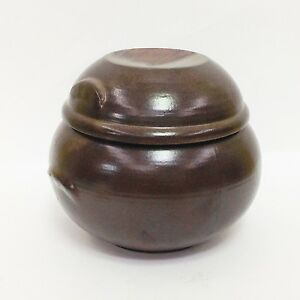 1kg Pottery Porcelain Jar Pot for Food fermentation Onggi Korean Ceramic