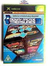 Midway Arcade Treasures 3 Xbox Nuevo Precintado Retro Sealed Brand New PALUK