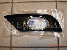 Mercedes W211 E-Class Genuine AMG Front Bumper Cover Left Mesh Grille NEW 07-09