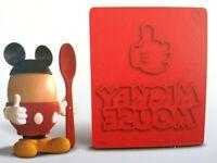 Disney Mickey Mouse Maus Eierbecher Ohren Löffel Toaststempel Deko Set Primark