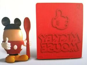 Disney Mickey Mouse Maus Eierbecher Ohren Löffel Toaststempel Deko Geschenk Set
